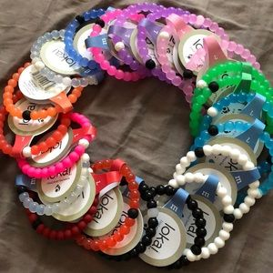 NWT Lokai bracelets! Varying colors